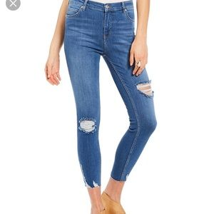 Free People Size 28 High Rise Skinny Jeans